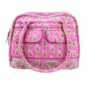 Vera Bradley Pink Paisley Shoulder Bag